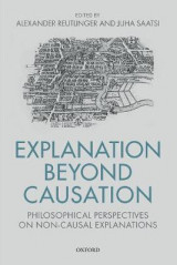 Omslag - Explanation Beyond Causation