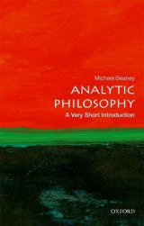 Omslag - Analytic Philosophy: A Very Short Introduction