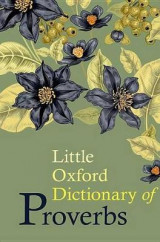 Omslag - Little Oxford Dictionary of Proverbs
