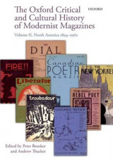 Omslag - The Oxford Critical and Cultural History of Modernist Magazines: North America 1894-1960 Volume II