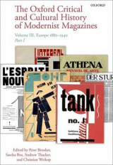Omslag - The Oxford Critical and Cultural History of Modernist Magazines: Europe 1880 - 1940 Volume III