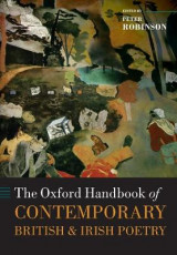 Omslag - The Oxford Handbook of Contemporary British and Irish Poetry