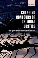 Omslag - The Changing Contours of Criminal Justice