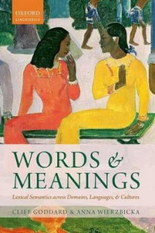 Words and Meanings av Cliff Goddard og Anna Wierzbicka (Heftet)