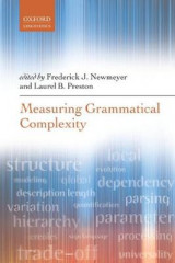 Omslag - Measuring Grammatical Complexity
