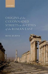 Omslag - Origins of the Colonnaded Streets in the Cities of the Roman East