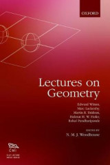 Omslag - Lectures on Geometry