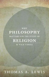 Omslag - Why Philosophy Matters for the Study of Religion-and Vice Versa