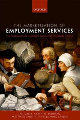 Omslag - The Marketization of Employment Services