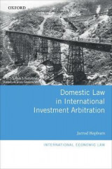 Omslag - Domestic Law in International Investment Arbitration