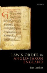 Omslag - Law and Order in Anglo-Saxon England