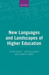 Omslag - New Languages and Landscapes of Higher Education