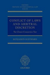 Omslag - Conflict of Laws and Arbitral Discretion