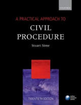 Omslag - A Practical Approach to Civil Procedure