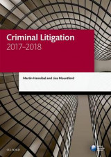 Omslag - Criminal Litigation 2017-2018