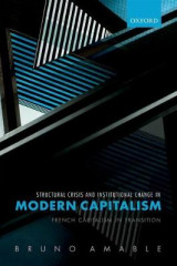 Omslag - Structural Crisis and Institutional Change in Modern Capitalism