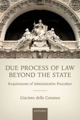 Omslag - Due Process of Law Beyond the State
