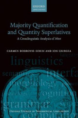 Omslag - Majority Quantification and Quantity Superlatives