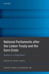 Omslag - National Parliaments After the Lisbon Treaty and the Euro Crisis