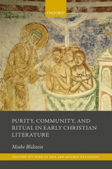 Omslag - Purity, Community, and Ritual in Early Christian Literature