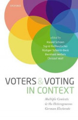 Omslag - Voters and Voting in Context