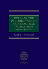 Omslag - Delay in the Performance of Contractual Obligations
