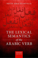 Omslag - The Lexical Semantics of the Arabic Verb