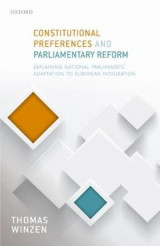 Omslag - Constitutional Preferences and Parliamentary Reform