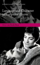 Omslag - Language and Character in Euripides' Electra