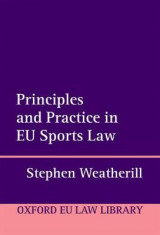 Omslag - Principles and Practice in EU Sports Law