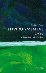 Omslag - Environmental Law: A Very Short Introduction