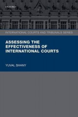 Omslag - Assessing the Effectiveness of International Courts