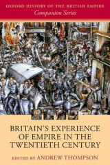 Omslag - Britain's Experience of Empire in the Twentieth Century