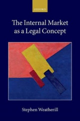 Omslag - The Internal Market as a Legal Concept
