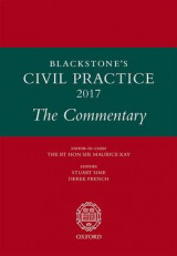 Omslag - Blackstone's Civil Practice: The Commentary 2017