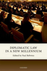 Omslag - Diplomatic Law in a New Millennium