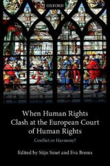 Omslag - When Human Rights Clash at the European Court of Human Rights
