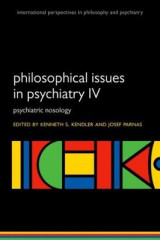 Omslag - Philosophical Issues in Psychiatry IV: IV