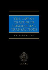 Omslag - The Law of Tracing in Commercial Transactions