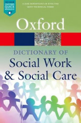 Omslag - A Dictionary of Social Work and Social Care