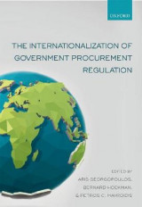 Omslag - The Internationalization of Government Procurement Regulation