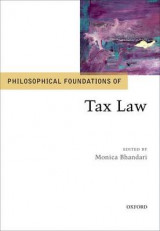 Omslag - Philosophical Foundations of Tax Law