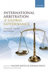 Omslag - International Arbitration and Global Governance