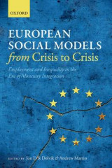Omslag - European Social Models from Crisis to Crisis
