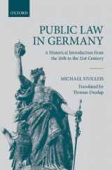 Omslag - Public Law in Germany