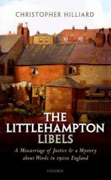 Omslag - The Littlehampton Libels
