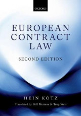 Omslag - European Contract Law