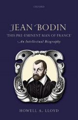 Omslag - Jean Bodin, 'this Pre-eminent Man of France'