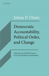 Omslag - Democratic Accountability, Political Order, and Change