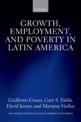 Omslag - Growth, Employment, and Poverty in Latin America